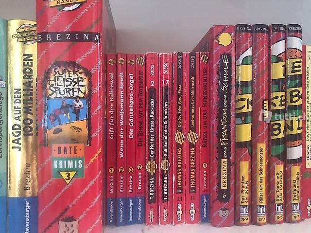 Diverse Knickerbrocker Bande Bücher von Thomas Brezina