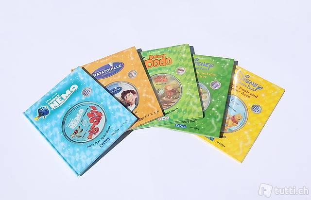 Hör-Spielbücher mit CD Findet Nemo, Ratatouille, Winnie Puuh