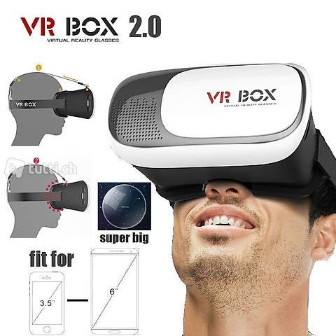 Portofrei 3D Virtual Reality VR Box 3D Brille Smartphone