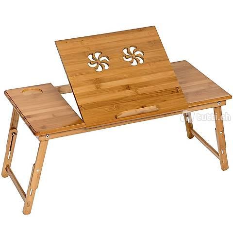 Tavolo per laptop in legno, (Consegna gratuita) 4