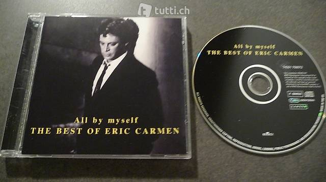 1cd: ERIC CARMEN - ALL BY MYSELF, THE BEST OF - 1999