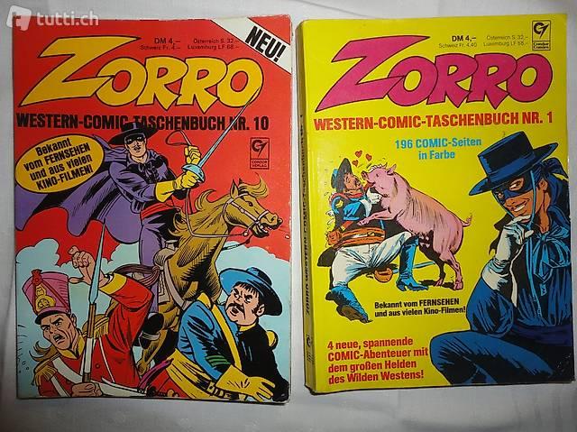ZORRO WESTERN-COMICS-TASCHENBUCH 1 +10