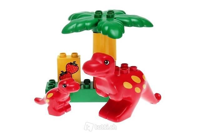 LEGO Duplo 2601 - Roter Hüpfdino mit Kind