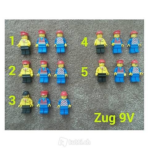 Lego Eisenbahner 9V Sets Einzeln