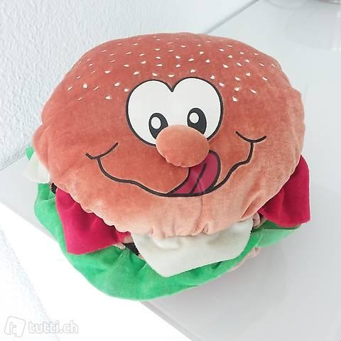 Hamburger Zierkissen Dekokissen Juxartikel