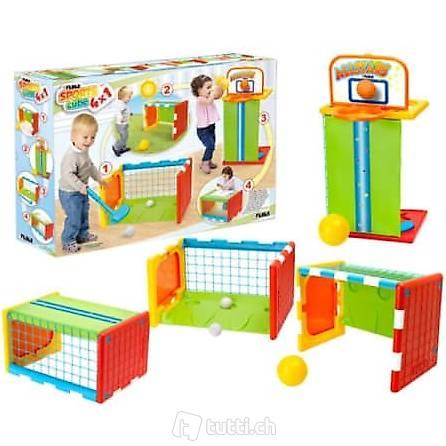 Feber 4in1 Sports Cube Sportwürfel Spiel