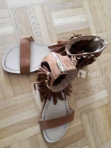 Sommer Schuhe Gr 38