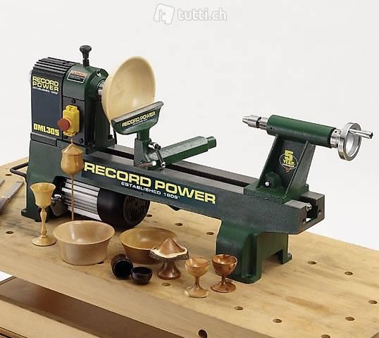 Drechselbank von Record Power DML305  massiv