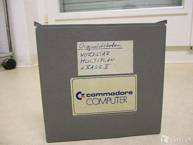 Commodore 64 Programme WORDSTAR Multiplan dBase2 RAR!