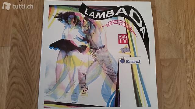 Lambada - Doppel-LP (CBS 1989) - 20 Songs