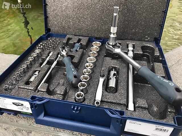 Festool Ratschen-Set Steckschlüsselsatz Limited Edition