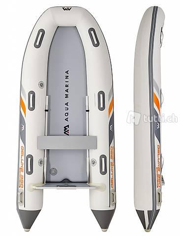 Schlauchboot U-DELUXE aufblasbar (350 (Gratis Lieferung)