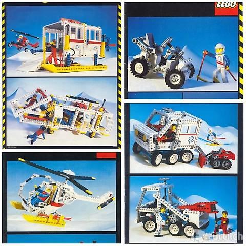 Lego Technik Arktic - Komplette Serie, wie neu!
