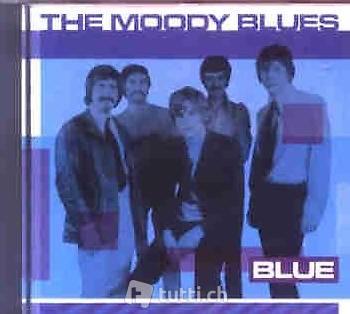 THE MOODY BLUES - Blue (Soft-Rock CD, 1989)