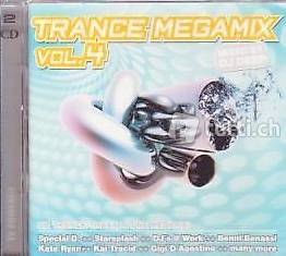TRANCE Mega Mix - Vol. 4 (2 CDs Trance)