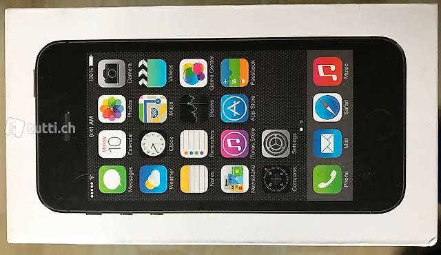iPhone 5s Schachtel ohne Handy