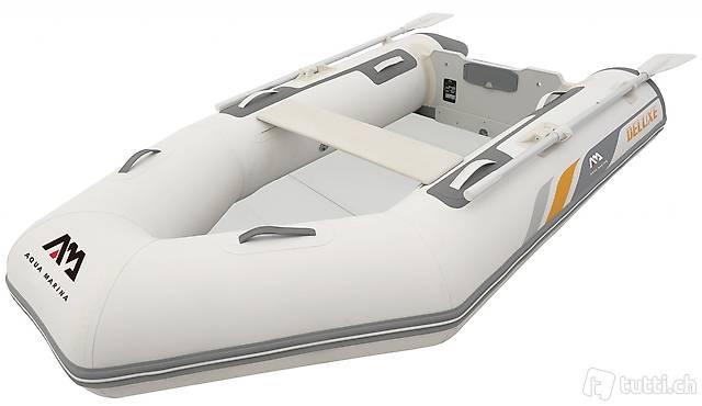 Schlauchboot A-DELUXE mit Holzdeck (Gratis Lieferung)