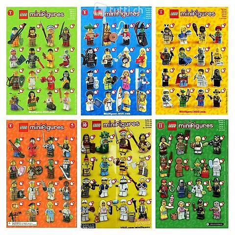 Lego Minifiguren ab Serie 1 - Update 24.4.2021