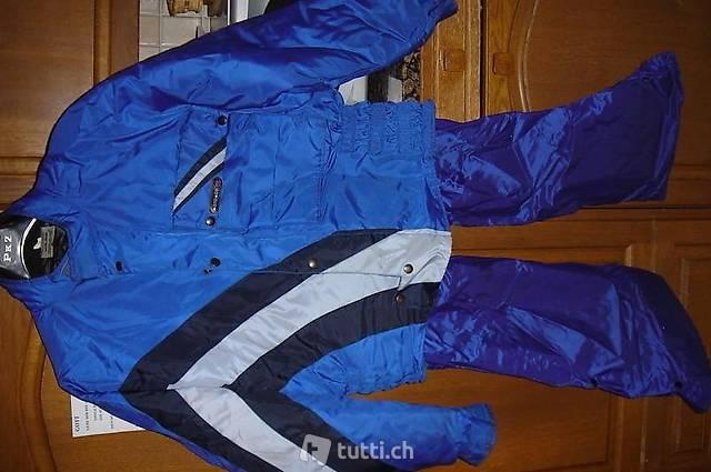 Motorrad-Jacke und Regenhose Gr 5 und 6