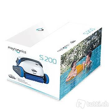 Poolroboter DOLPHIN S200 mit 4 Jahre Garantie