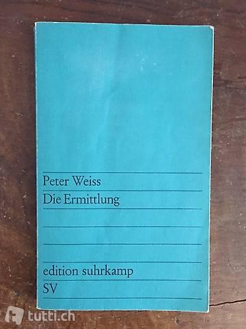 Peter Weiss - Die Ermittler