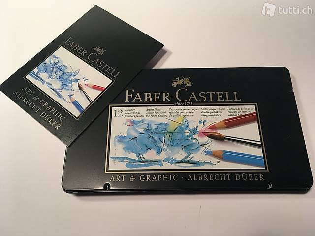 Faber Castell, 12 Aquarellstifte