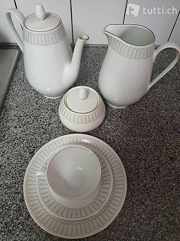 servizio da tè/caffè x6 persone