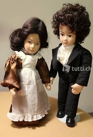 Bezauberndes Puppenpaar