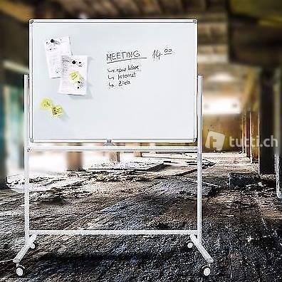 Portofrei 60x90cm Whiteboard Magnettafel +Stativ