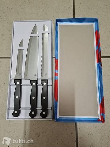nuovo ancora incartato set di coltelli