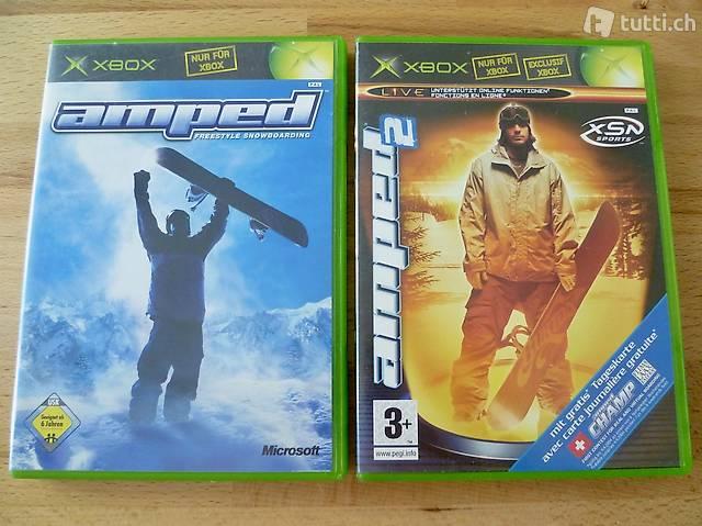 Amped + Amped 2 - Microsoft Xbox