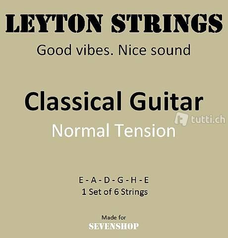 6x Saiten - Klassische Gitarre, Classic Guitar, Klassisch