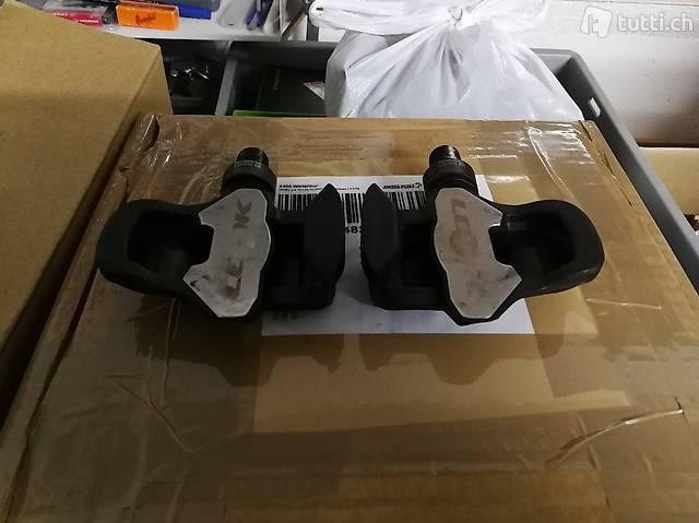 Pedali in carbonio look keo blade