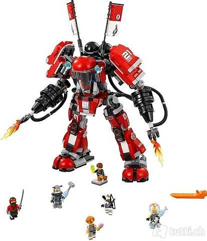 Lego OVP Ninjago 70615 Fire Mech, Neu