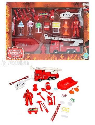 Feuerwehr Mega Spielzeugset 20-teilig