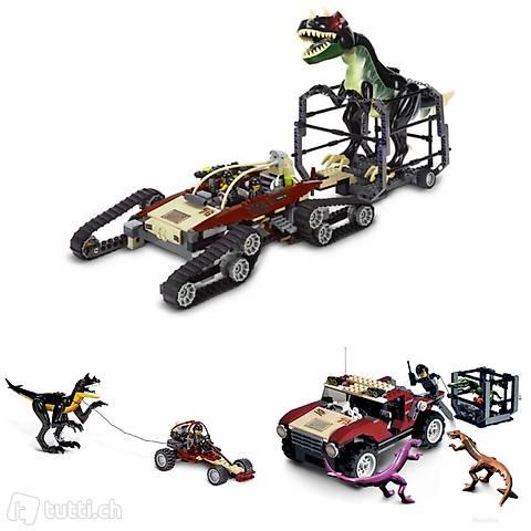 Lego 3x Dino 2010, T-Rex, 4WD, Buggy