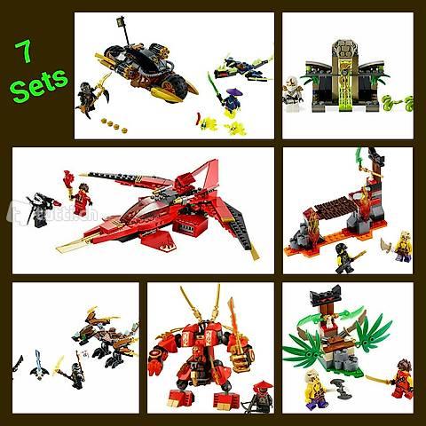 Lego Ninjago 7 Sets komplett (MS 4)