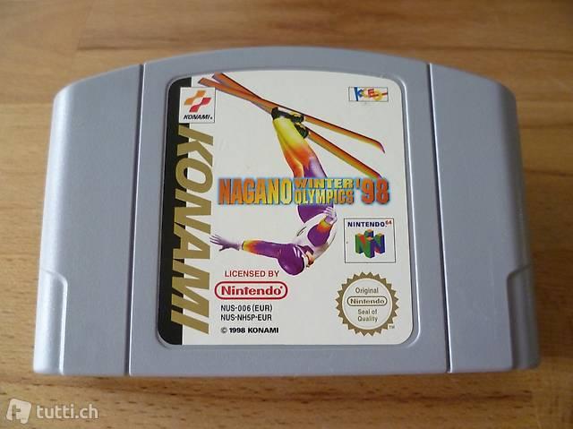 Nagano Winter Olympics 98 - N64 Nintendo 64