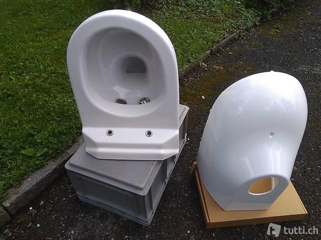 Closomat Avantgarde Wand-WC (Schüssel und Abdeckung) NEU