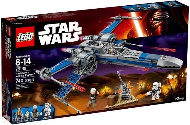 Lego OVP 75149 Star Wars Resistance X-Wing Fighter, neu