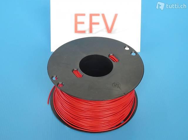 200m Rolle T-Litze 0.5mm2 mehrere Farben Elektro Modellbau