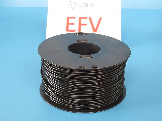200m Rolle T-Litze 1mm2 mehrere Farben Elektro Modellbau