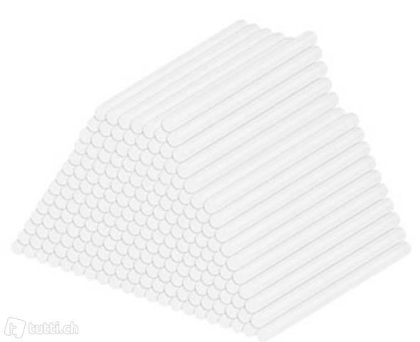 4er-Set 50 Klebesticks für Klebepistolen, 11 x 200 mm, weiß