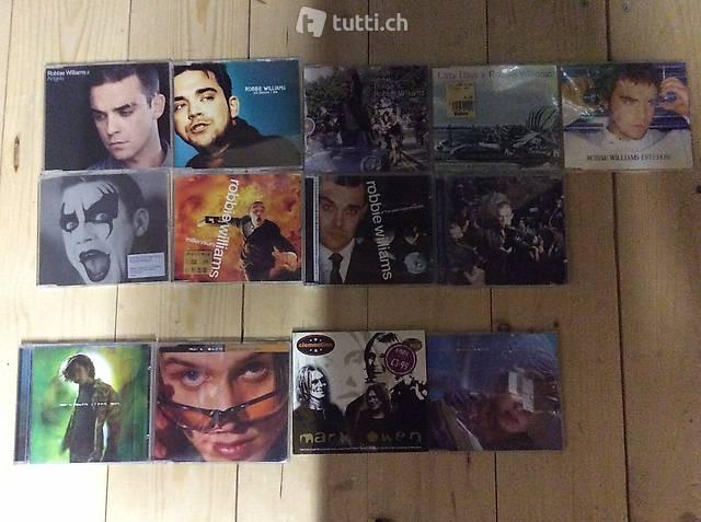 CD Take That, Mark Owen, Robbie Williams, Gary Barlow