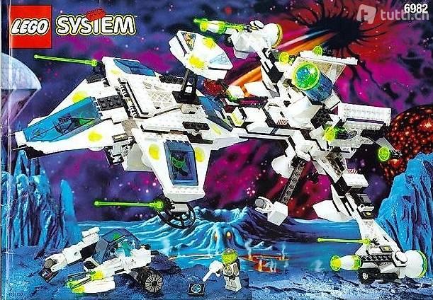 Lego Exploriens 6982 #2 Explorien Starship