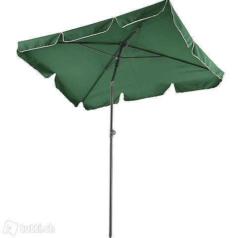 Ombrellone 200x125cm verde (Consegna gratuita)