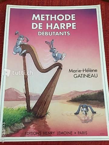 Methode de Harpe Débutants auf Französisch / Harfen Lehrheft