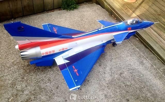 Chengdu Sport Jet J-10, Version V2.1, Spw 956mm, PNP-Set