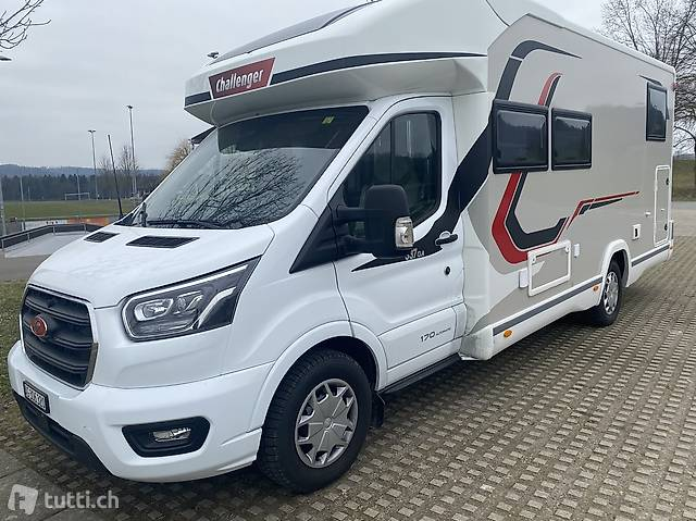 Neues Wohnmobil 170 PS Challenger