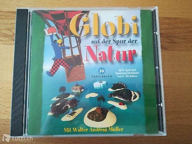 Globi und Ottifant CD ROMs.